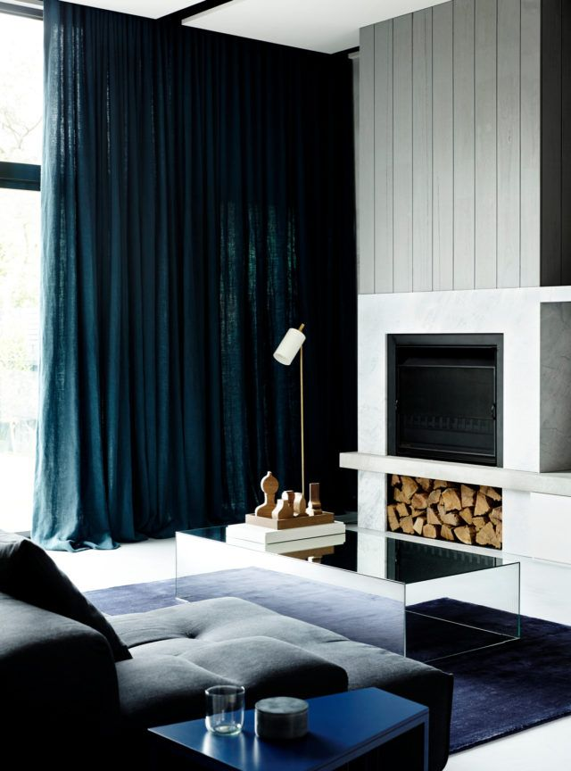 Belle Coco Republic Interior Design Awards 2016 winner - Fiona Lynch love the teal curtain