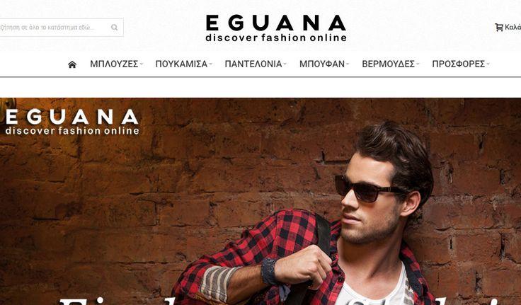Eguana - Ανδρικά Ρούχα   Online Καταστήματα - Webfly.gr