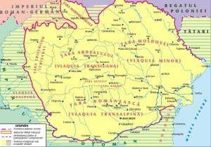 Romania, during the rule of Michael the Brave (1600) / Romania in timpul domniei lui Mihai Viteazul (1600)