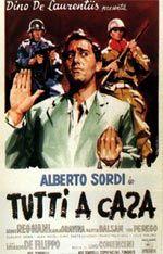 """Luigi Comencini seguramente, junto com Risi e Monicelli, um dos maiores diretores italianos é considerado o pai da comédia italiana. Dirigiu os maiores atores italianos, e dele propomos o filme """"Tutti a Casa"""". Obs: Audio e legendas em italiano."""