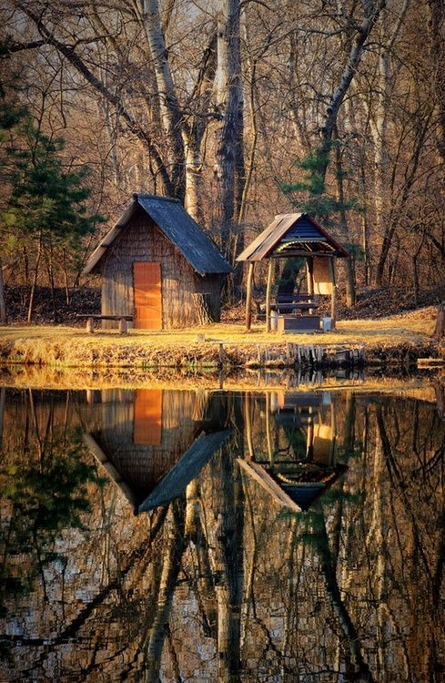 Lake Reflection, Hungary