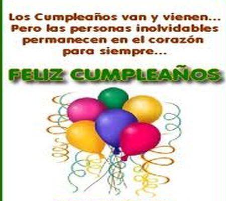 Resultado de imagem para cartão de aniversário em espanhol