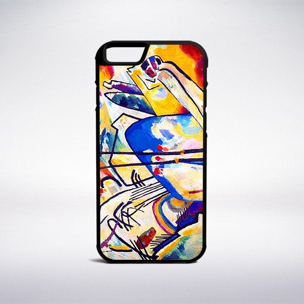 Wassily Kandinsky - Composition IV Phone Case – Muse Phone Cases