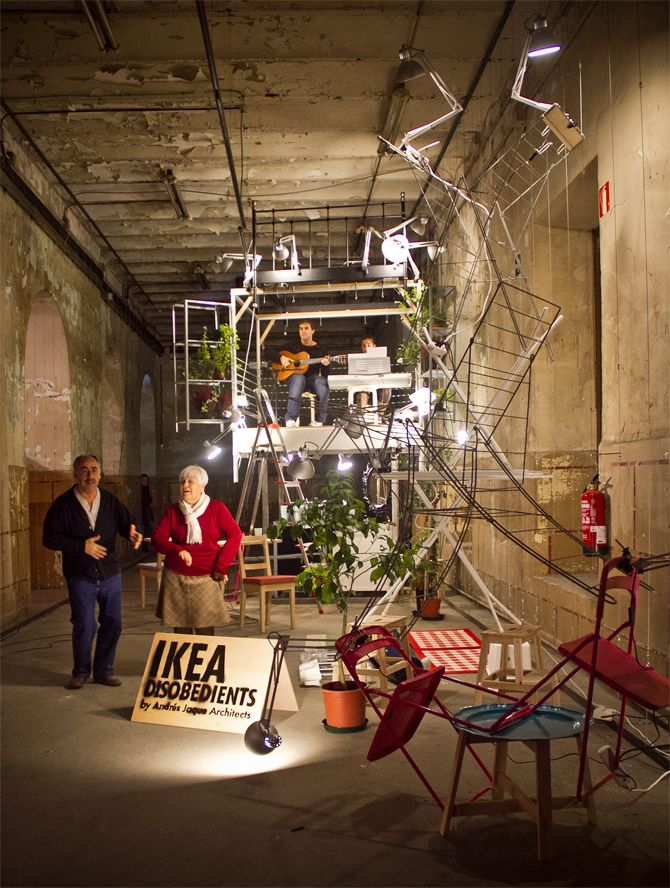 Ikea Disobedients By Andr 233 S Jaque Performance