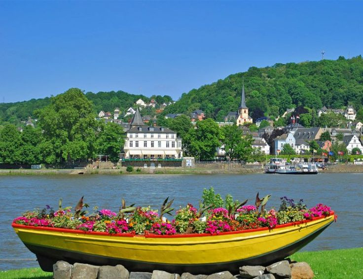 Romantic View of Linz am Rhein, Rhine Valley   TOP 10 Best Places to Visit in Germany