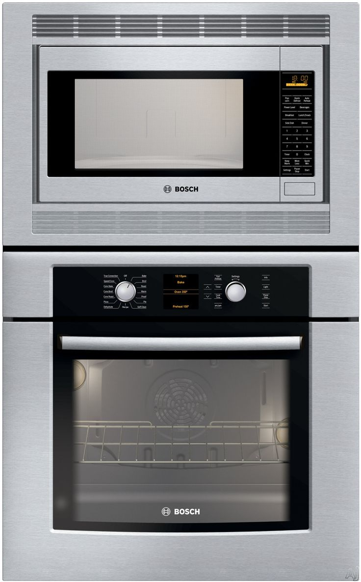 Kitchen small appliances victoria bc - Bosch Wall Oven Micro Combo Great For Small Spaces