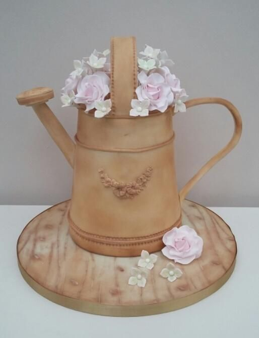 Vintage Watering Can by The Buttercream Pantry