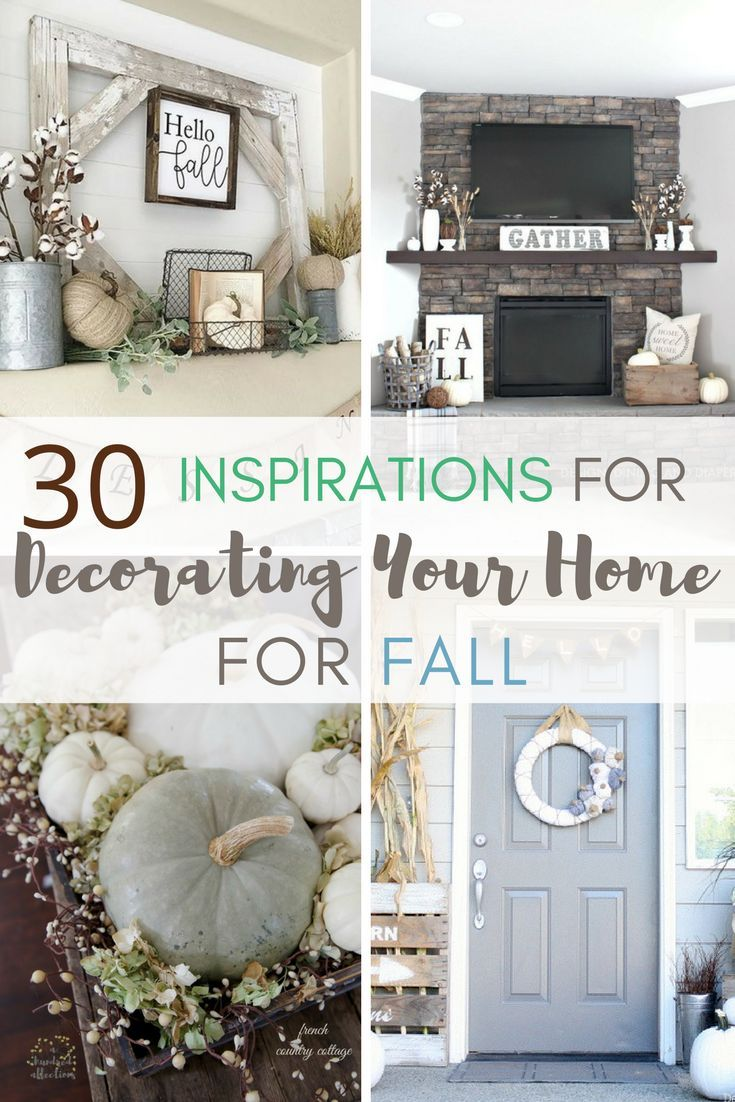 How To Decorate Your Home Part - 38: 30 Inspirations For Decorating Your Home For Fall
