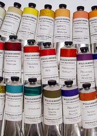 williamsburg handmade oil colors- gorgeous colors!!