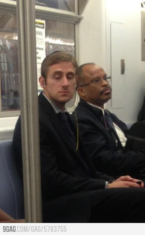 The lost son of Ryan Gosling and Steve Carell. Hear that? That's the sound of your mind being blown.