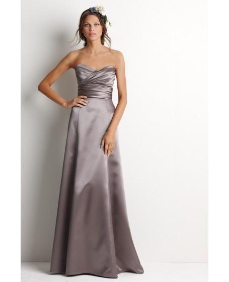 Sweetheart Criss-cross A-line Bridesmaid Dress