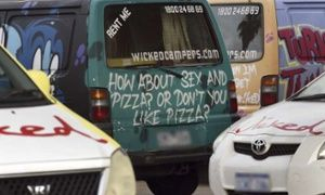 Wicked Campers controversy