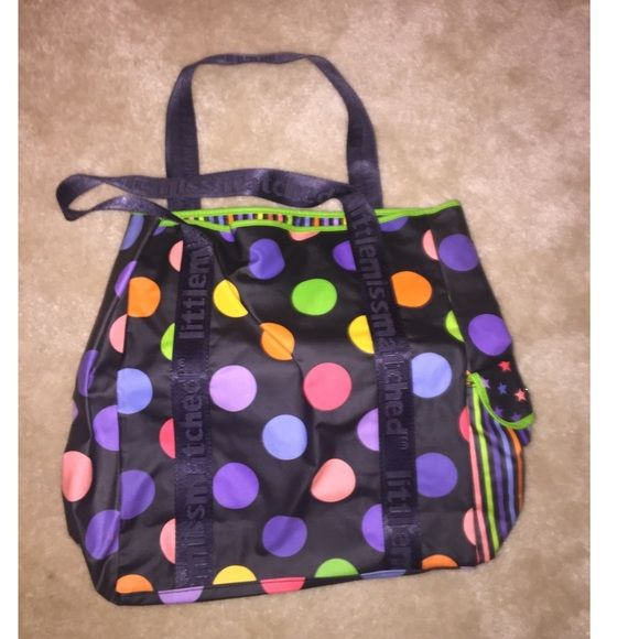 Little Miss Matched Tote Bag NEVER USED . Cute bag to carry anything in! ❤️ Bags