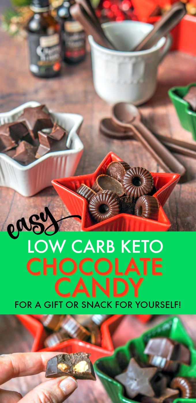 Low Carb Keto Chocolate Candy Recipe My Life Cookbook Best Of