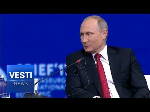 Russian President Putin Tells Meagan Kelly how it is-  St. Petersburg Forum  Participants Appreciate Frankness - YouTube
