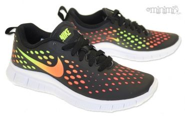 Photo Nike air Free 5.0 Express - baskets enfant / femme - Black multicolor #mode #enfant #kid #sneakers
