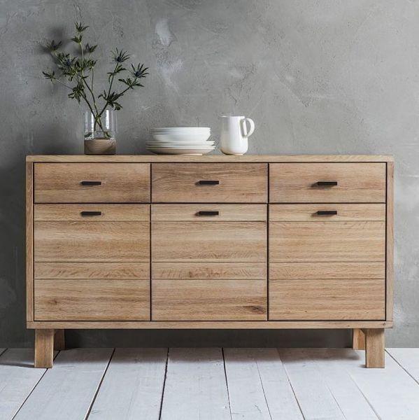 Hudson Living Kielder Oak Sideboard