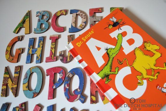Dr. Seuss's ABC Book Alphabet Letters Dr. by TheDutchHospital