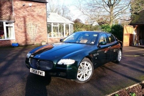 2005 Maserati Quattroporte V owned by Sir Elton John is going up for auction