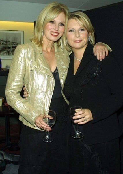 Joanna Lumley and Jennifer Saunders, Absolutely Fabulous, sweetie ;-)