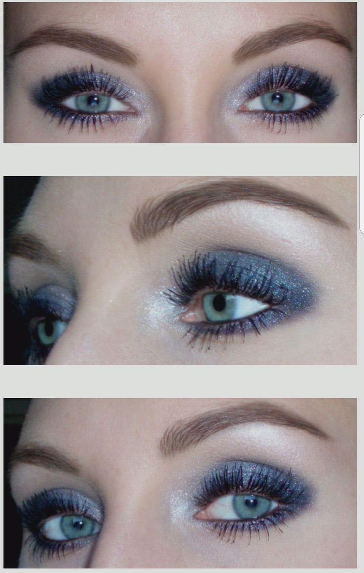 Shimmering smokey eyes - josieholmlund