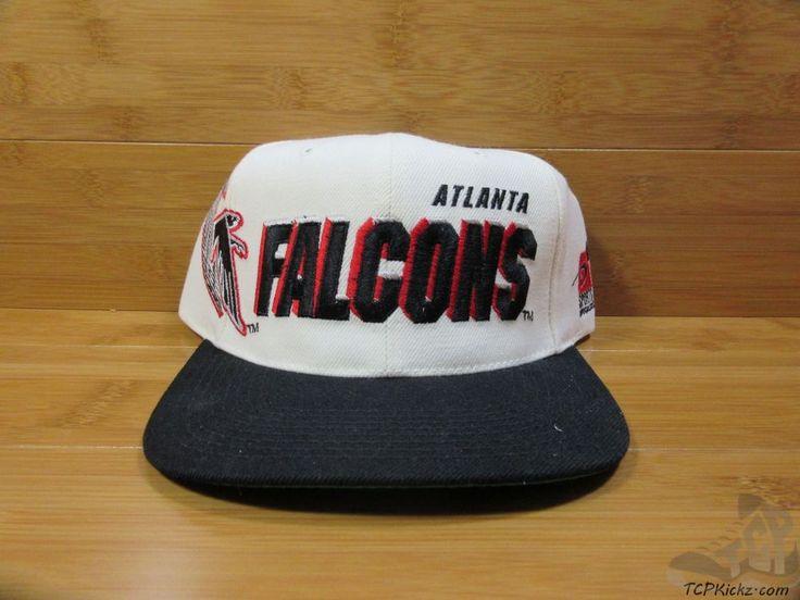 vtg 90s sports specialties atlanta falcons snap back hat cap adult one size nfl sportsspecialties