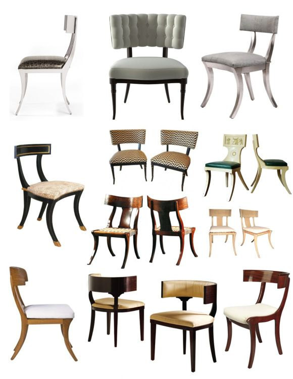 Enduring Design Of Classical Antiquity: The Klismos Chair