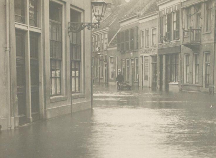 Stormvloed 1916 - Het Eiland, Zwolle