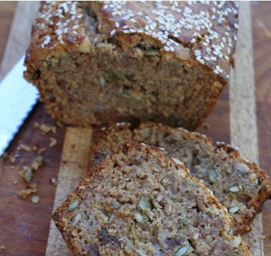 banana loaf. this website has amazing fructose free recipes!