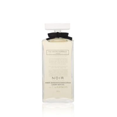 Noir Bath Oil from The White Company