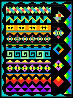 Morning Glory Designs: New Block of the Month for 2016 -- Seminole Sampler