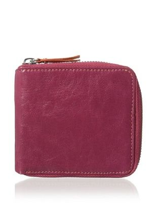 54% OFF Tusk Women's Siam Zip French Wallet (Raspberry/Tigerlily)
