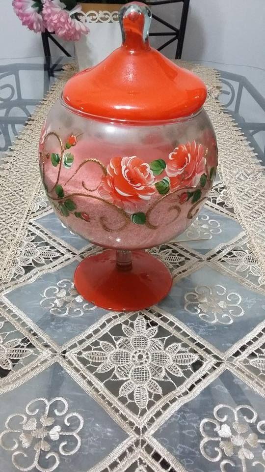 Pintura em jarro