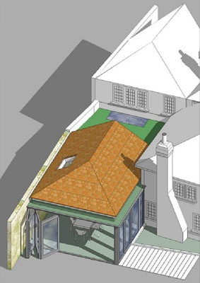 Shape Architecture London | Architects London, Contemporary Architects, Residential Architect     Grade 2 listed property extension, Maidenhead.