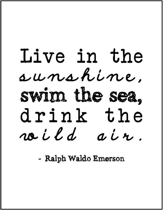 Ralph Waldo Emerson quote minimalist by JenniferDareDesigns, $8.00
