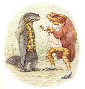 Beatrix Potter - Jeremy Fisher and Sir Isaac Newton