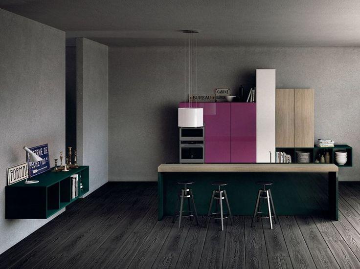 Fitted Kitchen MILANO By Del Tongo | Design Prospero Rasulo