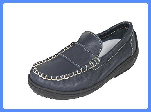 NATURINO Kinderschuhe Mädchen Schuhe Mokassins Shoe Polo (23, blau)