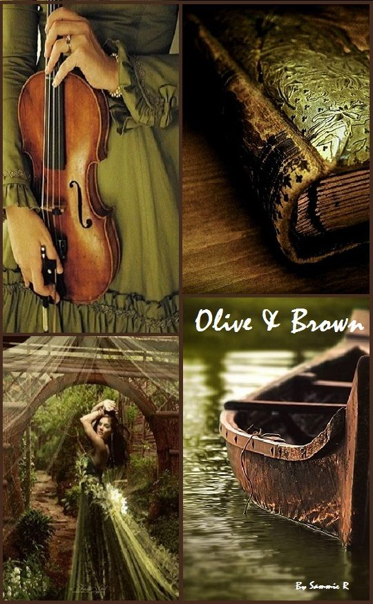 Olive and Brown By Sammie R