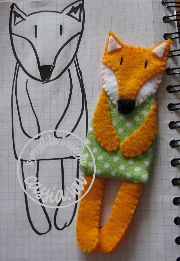 Fox- bookmark