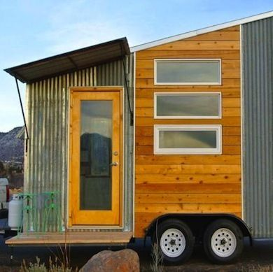 If you prefer a modern minimalist style portable home for Minimalist house on wheels