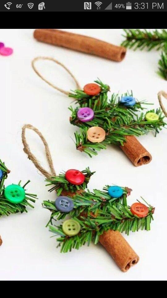 Fun Christmas trees that smell yummy!
