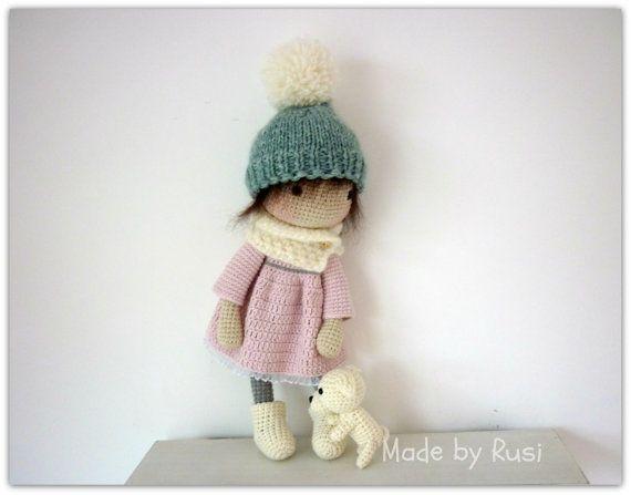 Amigurumi Crochet Doll Leah by Rusi Dolls by RusiDolls on Etsy