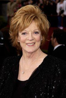 Maggie Smith. You may know she played Professor Minerva McGonagall in the Harry Potter movies. Did you know she did (at least for some of them) while being treated for cancer? Show must go on, so she kept acting! Not only is she determined, she's also really quite good at acting too.