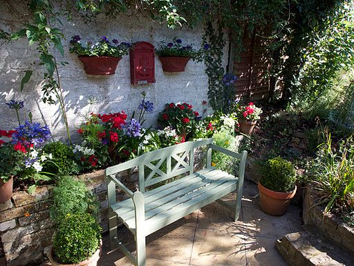 17 best Small Garden Solutions images on Pinterest   Garden makeover