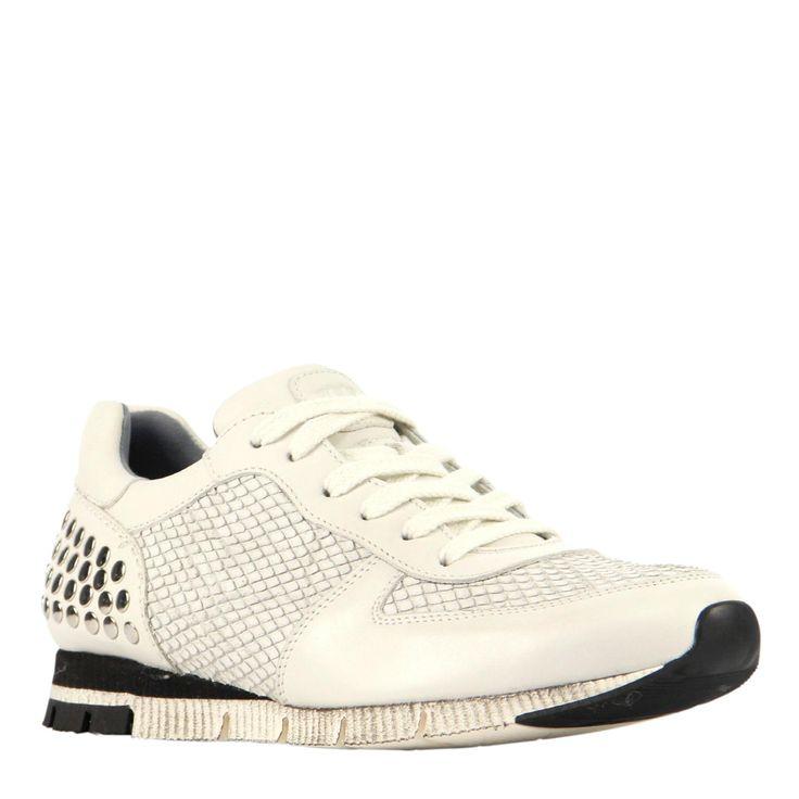 Trendy Paul Green leren sneakers (Wit) Sneakers van het merk Paul Green voor Dames . Uitgevoerd in Wit gemaakt van Leer|rubber.