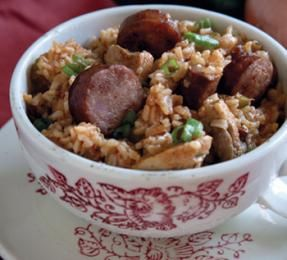 Chef Paul Prudhomme's Chicken and Sausage Jambalaya