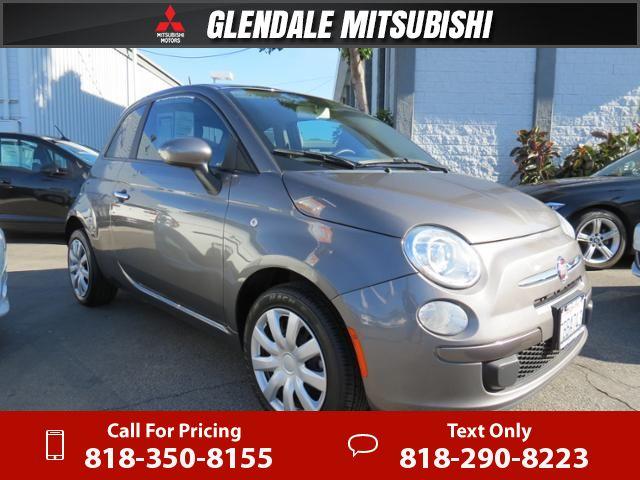 2013 Fiat 500 Pop 48k miles $8,990 48330 miles 818-350-8155 Transmission: Automatic  #Fiat #500 #used #cars #GlendaleMitsubishi #Glendale #CA #tapcars