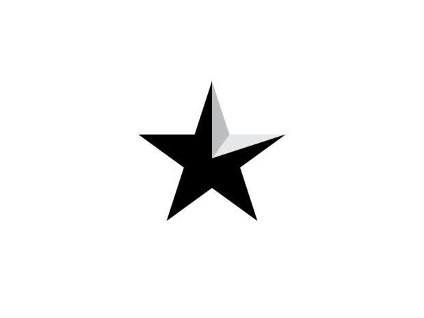 15 Must-see Star Logo Pins   Star logo, Logo ideas and Logo design