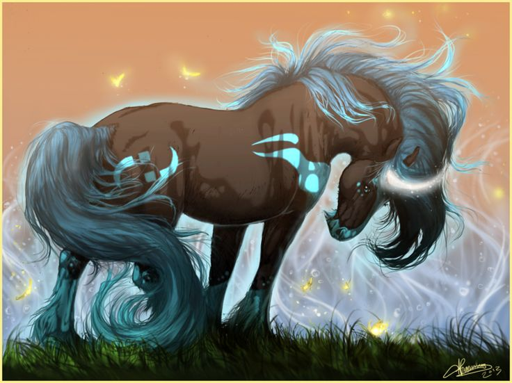 Deviantarts Robot Horse: 17 Best Images About Fantasy Art
